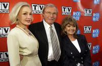 Adam West, Dawn Wells and Julie Newmar at the 2006 TV Land and Nick at Nite Upfront.