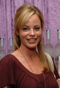 Chandra West at the Belvedere Vodka Beauty Bar during the HBO Luxury Lounge.