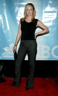 Chandra West at the NBC All-Star Party.