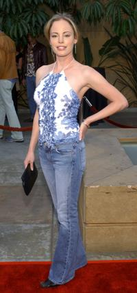 Chandra West at the premiere of