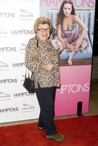 Dr. Ruth Westheimer at the Hamptons Magazine's spring issue party.