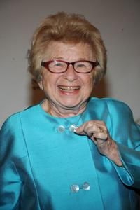 Dr. Ruth Westheimer at the 52nd Annual New York Emmy Awards gala.