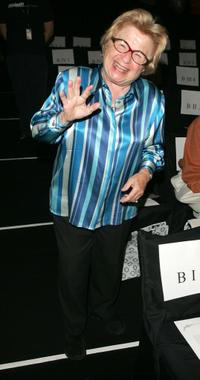 Dr. Ruth Westheimer at the Gottex Spring 2006 fashion show during the Olympus Fashion Week.