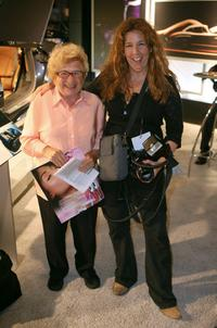 Dr. Ruth Westheimer and Diane Cohen at the Mercedes-Benz Fashion Week Spring 2008.