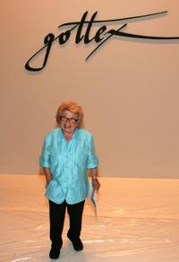 Dr. Ruth Westheimer at the Gottex Spring-Summer 2009 Show.