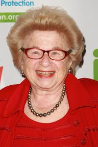 Dr. Ruth Westheimer at the Mentor Foundation Royal Gala.