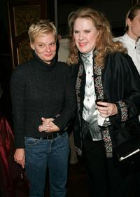 Martha Plimpton and Celia Weston at the after party premiere of