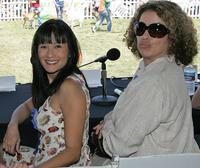 Suzanne Whang and Roma Maffia at the New Leash On Life's 5th Annual Nuts for Mutts dog show.