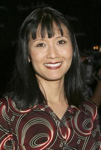 Suzanne Whang at the Smothers Brothers performance for Children of the Night.
