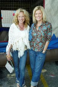 Virginia Madsen and Dana Wheeler-Nicholson at the after party of the premiere of