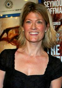Dana Wheeler-Nicholson at the screening of