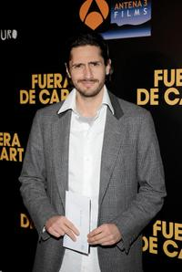 Juan Diego Botto at the premiere of
