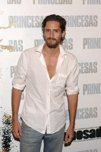 Juan Diego Botto at the Spanish premiere of