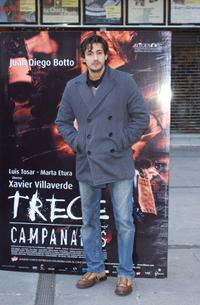 Juan Diego Botto at the photo shoot of