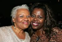 Barbara Morrison and Lillias White at the party following the Actor's Fund S.T.A.G.E. Too Tribute: Hooray for Love.