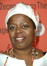 Lillias White at the Second Stage Theatre's New Works Festival.