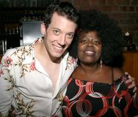 John Tartaglia and Lillias White at the beneift concert for