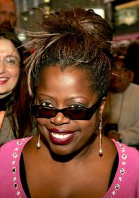 Lillias White at the opening night of