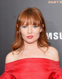 Stef Dawson at the New York premiere of