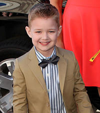 Connor Corum at the World premiere of