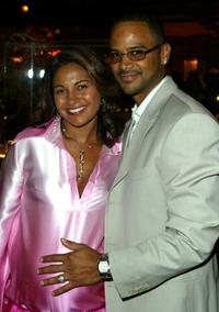Salli Richardson-Whitfield and Dondre Whitfield at the Los Angeles screening of