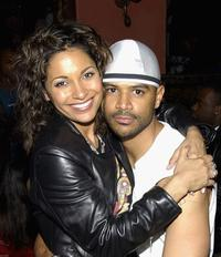 Salli Richardson and Dondre Whitfield at the after party of the premiere of
