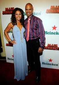 Salli Richardson-Whitfield and Dondre Whitfield at the Los Angeles premiere of