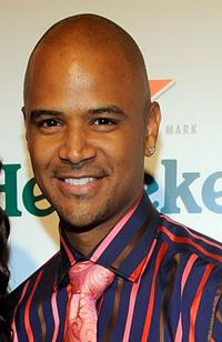 Dondre Whitfield at the Los Angeles premiere of