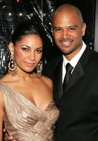 Salli Richardson-Whitfield and Dondre Whitfield at the premiere of