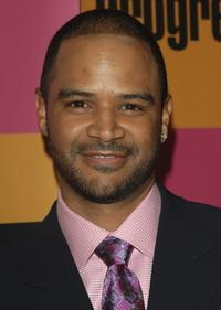 Dondre Whitfield at the Season premiere party of