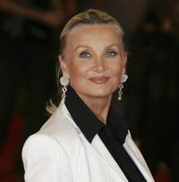 Barbara Bouchet at the premiere of