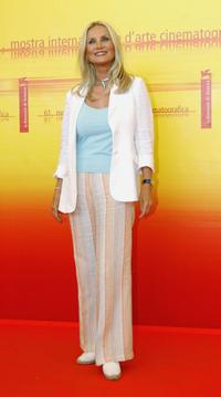 Barbara Bouchet at the 62nd Venice Film Festival photocall for