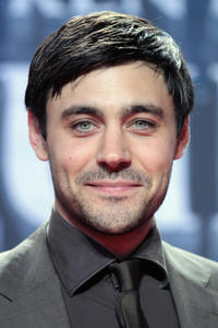 Liam Garrigan at the 'The Pillars of the Earth' premiere in Berlin.