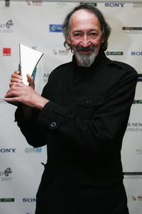 Frank Whitten at the Air New Zealand Screen Awards.
