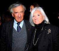 Elie Wiesel and Marion at the celebration of