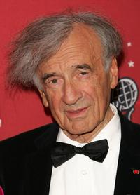 Elie Wiesel at the Time Magazine's celebration of 100 most influential people.