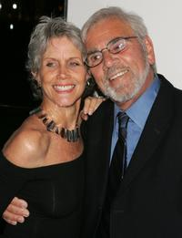 Shannon Wilcox and her husband Alex Rocco at the premiere of