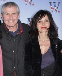 Director Claude Lelouch and Evelyne Bouix at the premiere of