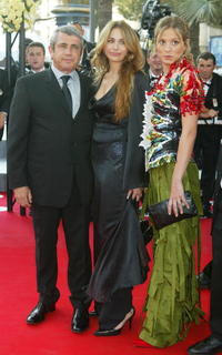 Michel Boujenah and Guests at the premiere of