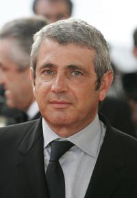 Michel Boujenah at the Palais des Festivals premiere of