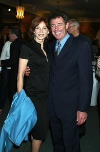 Marilu Henner and Barry Williams at the Harper Collins Book party celebrating the end of the publishing companys National Book Convention.