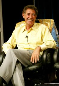 Barry Williams at the panel discussion of
