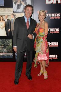 Barry Williams and Elizabeth Kennedy at the premiere of