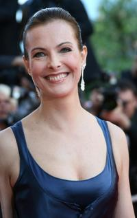 Carole Bouquet at the Cannes Film Festival.