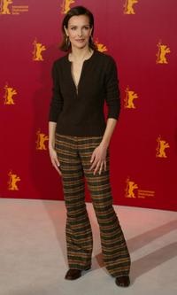 Carole Bouquet at the Berlin International Film Festival photocall of