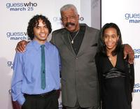 Hal Williams and his grandchildren at the premiere of