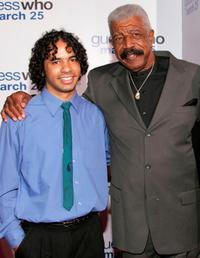 Hal Williams and Grandson at the premiere of