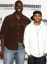 Ato Essandoh and J.D. Williams at the photo call for