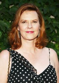 JoBeth Williams at the 40 Fabulous Faces Art Exhibit.