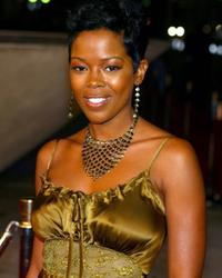 Malinda Williams at the CBS' Ray Charles Tribute Concert.